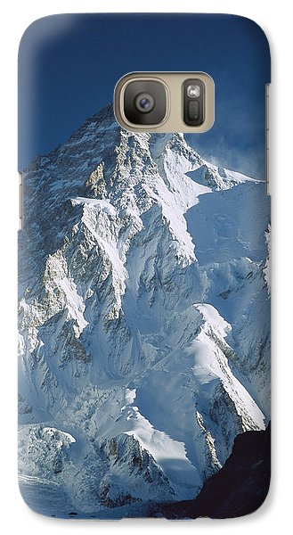 Mountain Galaxy S7 Case - K2 At Dawn Pakistan by Colin Monteath