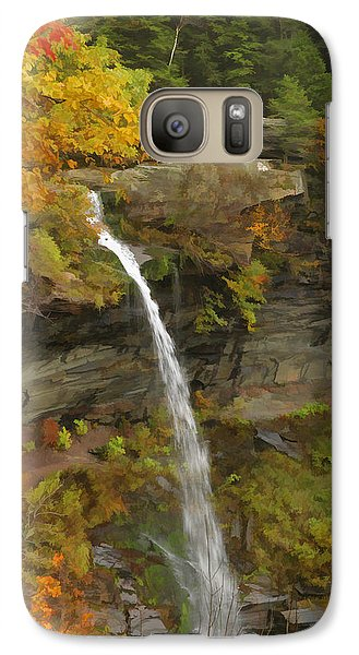 Galaxy Case featuring the photograph Kaaterskill Falls by Gregory Scott