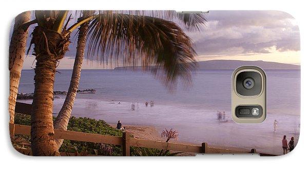 Kai Makani Hoohinuhinu O Kamaole - Kihei Maui Hawaii Galaxy S7 Case