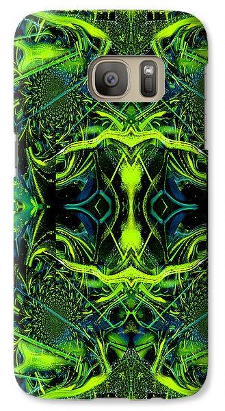 Galaxy Case featuring the painting Kaleidoscope Iphone Case by Robert Kernodle