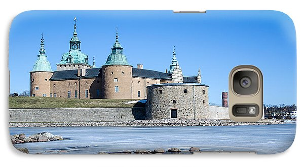 Galaxy Case featuring the photograph Kalmar Medieval Castle by Kennerth and Birgitta Kullman
