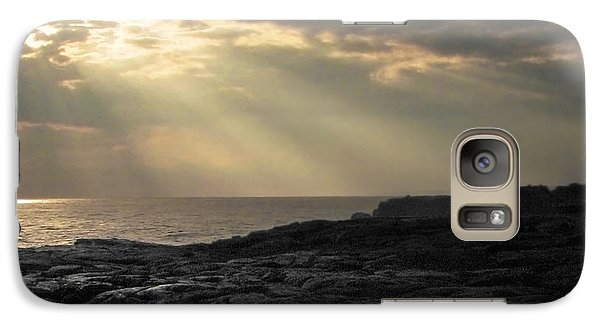 Galaxy Case featuring the photograph Kaloli Lani by Ellen Cotton