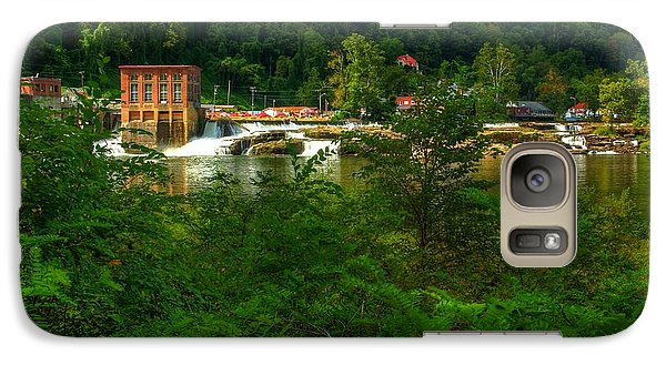 Galaxy Case featuring the photograph Kanawha Falls by Dave Files