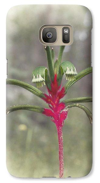 Galaxy Case featuring the photograph Kanga by Elaine Teague