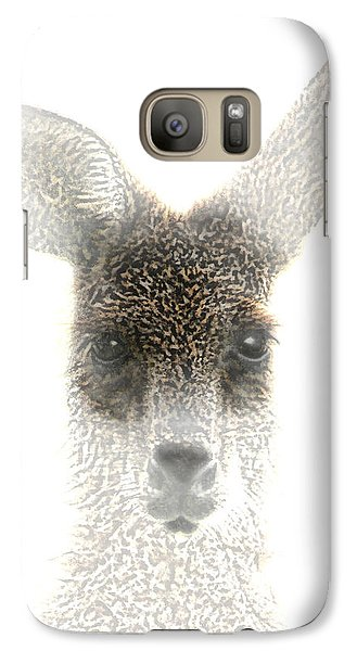 Galaxy Case featuring the photograph Kangaroo by Holly Kempe