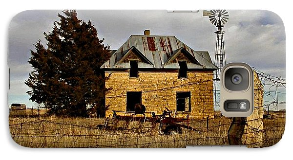 Galaxy Case featuring the photograph Kansas Castle 1 by Lynne Wright