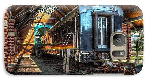 Galaxy Case featuring the photograph Kansas City Southern by Ross Henton
