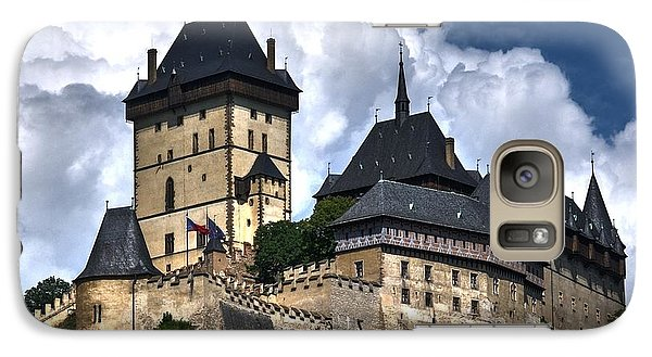 Galaxy Case featuring the photograph Karlstejn Castle In Prague 2 by Joe  Ng