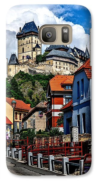 Galaxy Case featuring the photograph Karlstejn Castle In Prague  by Joe  Ng
