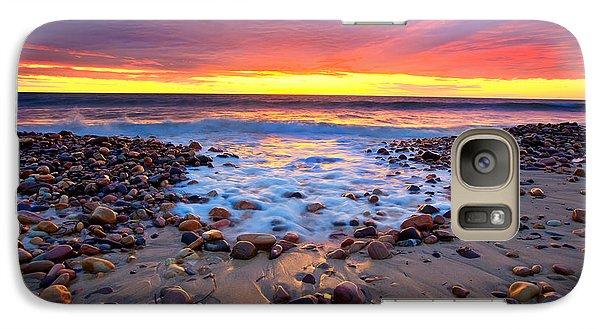 Karrara Sunset Galaxy Case by Bill  Robinson