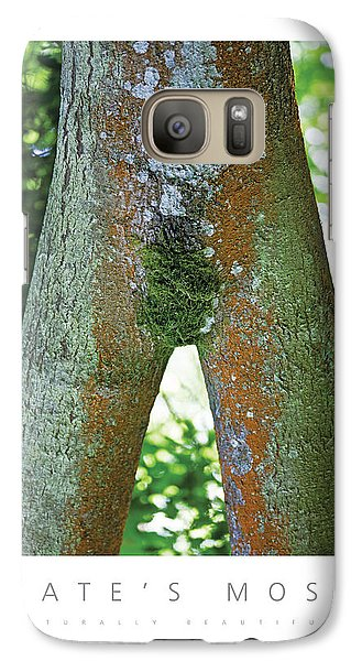 Galaxy Case featuring the photograph Kate's Moss Naturally Beautiful Poster by David Davies