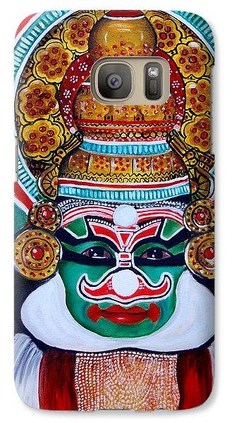 Galaxy Case featuring the painting kathakali..Duryodhana by Saranya Haridasan