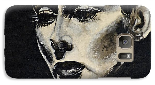 Galaxy Case featuring the painting Katherine by Sandro Ramani