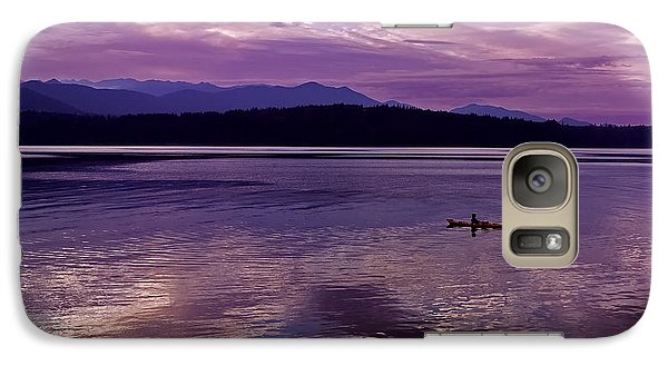 Galaxy Case featuring the photograph Kayak On Dabob Bay by Greg Reed