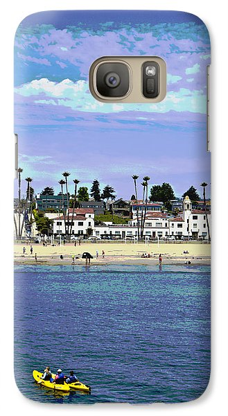 Galaxy Case featuring the photograph Kayaking by Tom Kelly