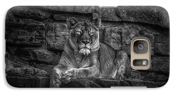 Keen Eyed Lioness Galaxy S7 Case