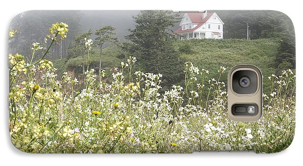 Galaxy Case featuring the photograph Keepers House by Laddie Halupa
