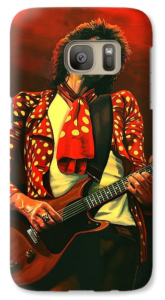 Keith Richards Painting Galaxy S7 Case
