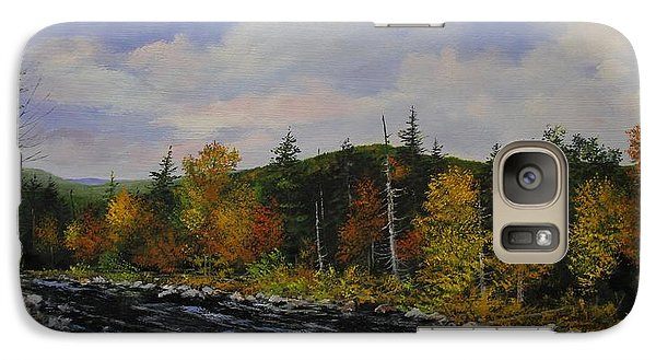Galaxy Case featuring the painting Kelly Stand by Ken Ahlering