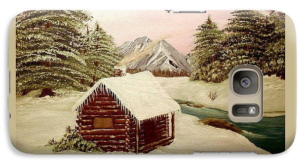Galaxy Case featuring the painting Kelly's Retreat by Sheri Keith