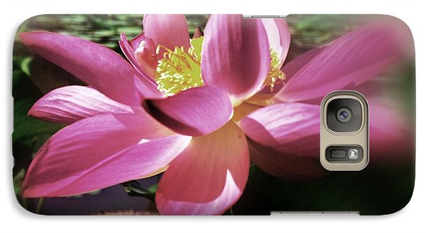 Galaxy Case featuring the photograph Kenilworth Garden Three by John S