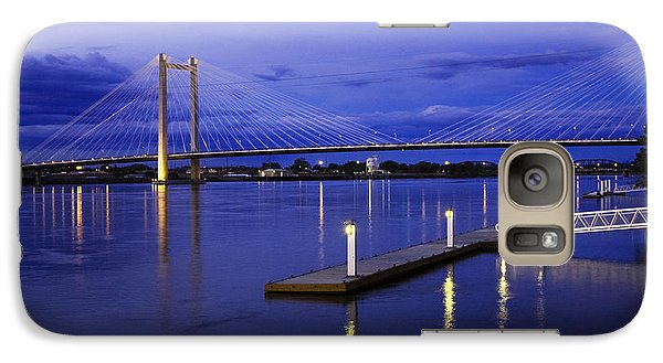 Galaxy Case featuring the photograph Kennewick Bridge 2 by Sonya Lang