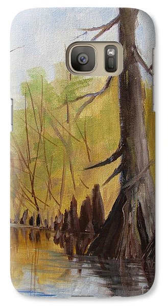 Galaxy Case featuring the painting Ken's Bayou by Barbara Haviland