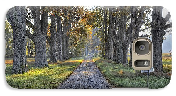 Galaxy Case featuring the photograph Kentucky Country Lane by Wendell Thompson