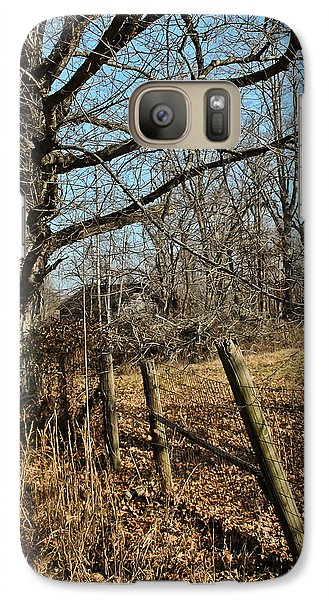 Galaxy Case featuring the photograph Kentucky Fence Row by Greg Jackson