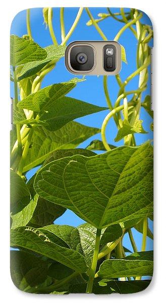Galaxy Case featuring the photograph Kentucky Pole Beans by Deborah Fay