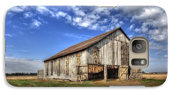Galaxy Case featuring the photograph Kentucky Tobacco Barn by Wendell Thompson