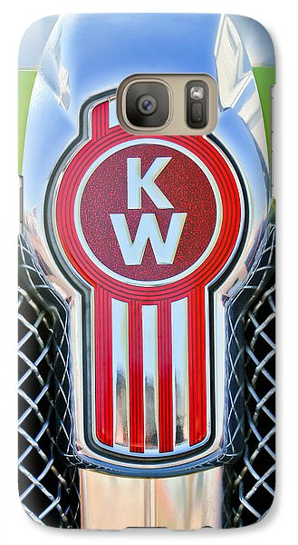 Kenworth Truck Emblem -1196c Galaxy S7 Case