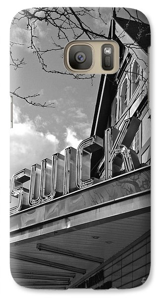 Galaxy Case featuring the photograph Keswick Theater by Val Miller