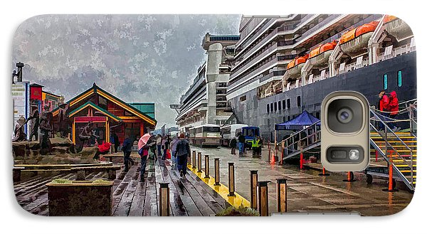 Galaxy Case featuring the photograph Ketchikan Alaska's Visitor Center by Timothy Latta