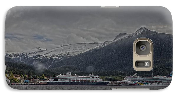 Galaxy Case featuring the photograph Ketchikan Alaska's Waterfront by Timothy Latta