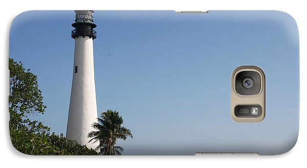 Galaxy Case featuring the photograph Key Biscayne Lighthouse by Christiane Schulze Art And Photography