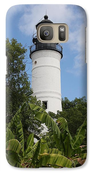 Galaxy Case featuring the photograph Key West Lighthouse  by Christiane Schulze Art And Photography