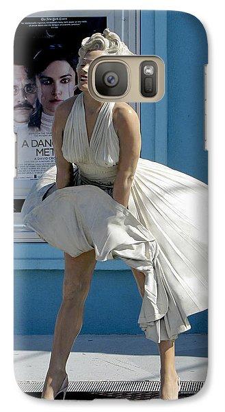 Key West Marilyn Galaxy S7 Case