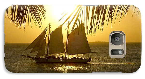 Galaxy Case featuring the photograph Key West Sunset by Joan  Minchak