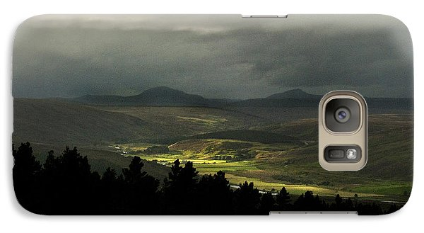 Galaxy Case featuring the photograph Kildonan Strath Northern Highlands Of Scotland by Sally Ross