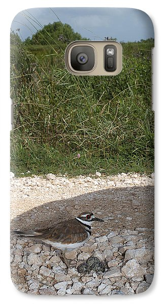 Killdeer Defending Nest Galaxy S7 Case by Gregory G. Dimijian