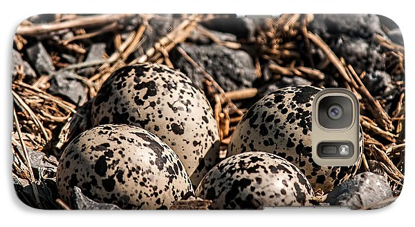 Killdeer Nest Galaxy Case by Lara Ellis
