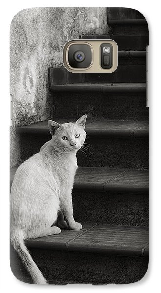 Galaxy Case featuring the photograph Kimba by Laura Melis