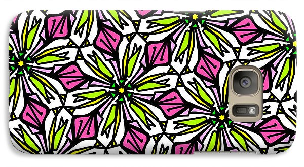 Galaxy Case featuring the digital art Kind Of Cali-lily by Elizabeth McTaggart