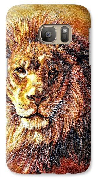 Galaxy Case featuring the photograph King by Adam Olsen