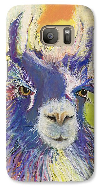 King Charles Galaxy Case by Pat Saunders-White