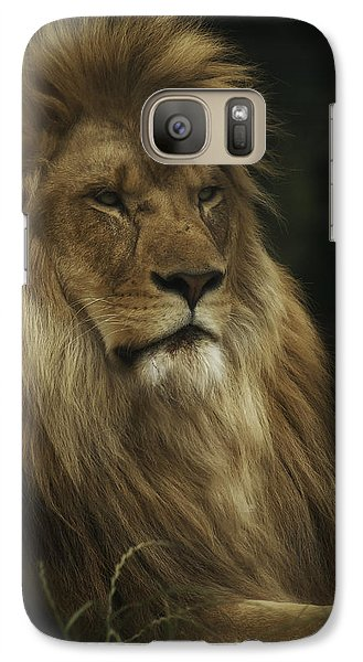 Galaxy Case featuring the photograph King by Chris Boulton