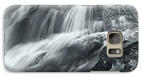 Galaxy Case featuring the photograph King Creek Falls by Jonathan Nguyen