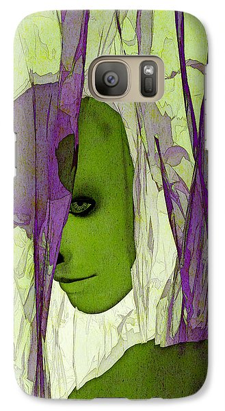 Galaxy Case featuring the digital art King Entombed by Matt Lindley