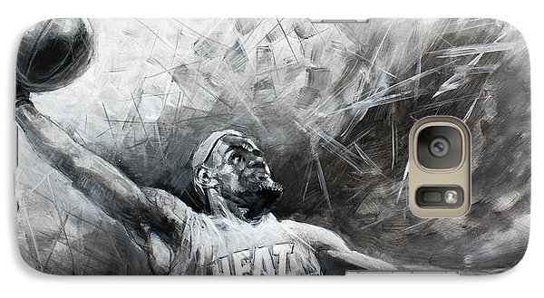 King James Lebron Galaxy S7 Case